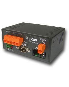 IP-0202024 ipEther232.IO Tischgerät 9 V DC - 4x Input, 2x Output und 1x RS232