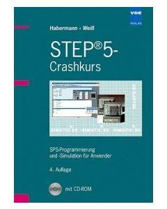 M004.001 Buch STEP5 Crashkurs 4. Auflage inkl. CD-ROM