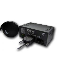 IP-0202019 ipNTP mit GPS Antenne - Tischgerät 9 V DC